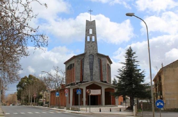 chiesa san Pio X Serra Perdosa Iglesias