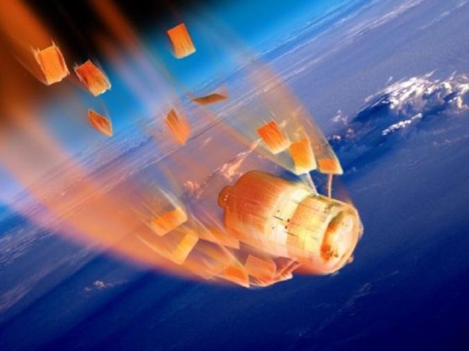 stazione spaziale cinese fuori controllo