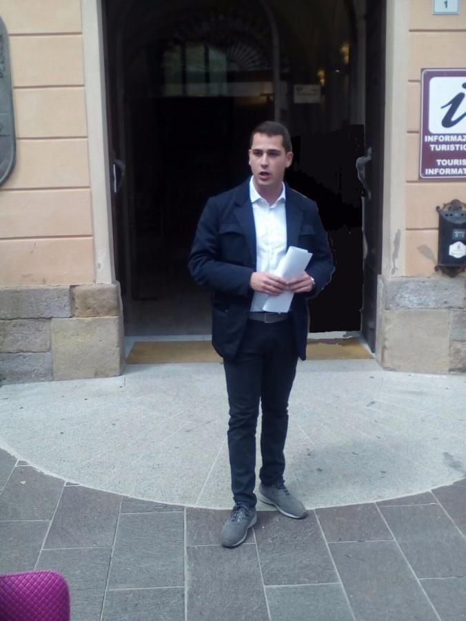 Mauro Usai candidato sindaco di Iglesias
