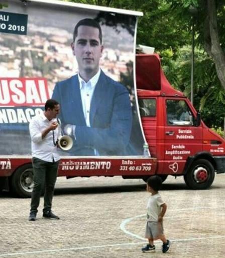 Mauro Usai campagna elettorale ballottaggio San Benedetto giugno 2018