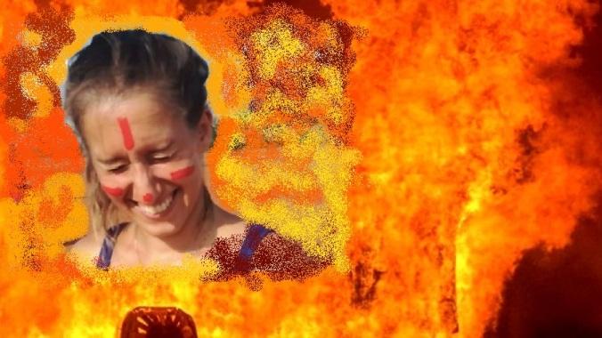 Silvia e incendio