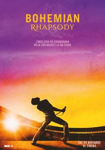 Bohemian rhapsody locandina film